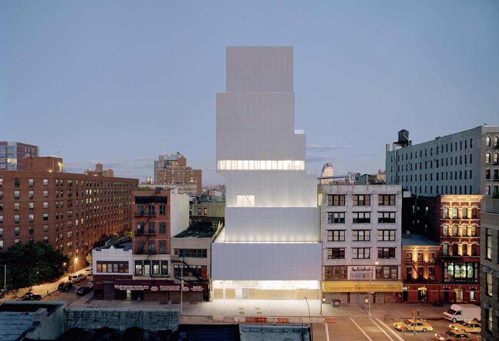 New Museum, New York City, photo by Dean Kaufmann