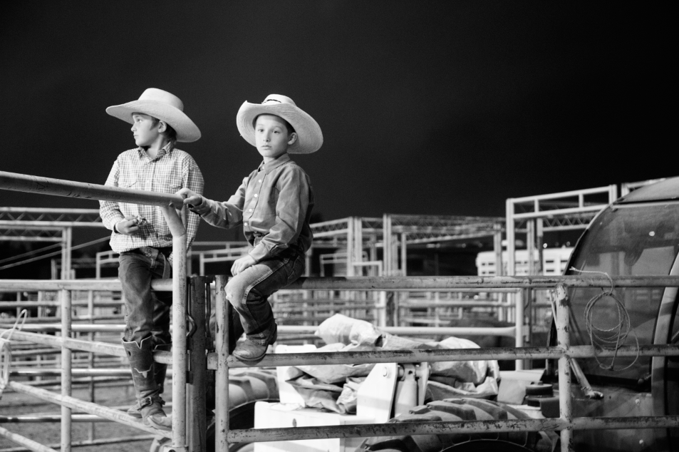 young cowboys @ sheridan wyo rodeo 2016