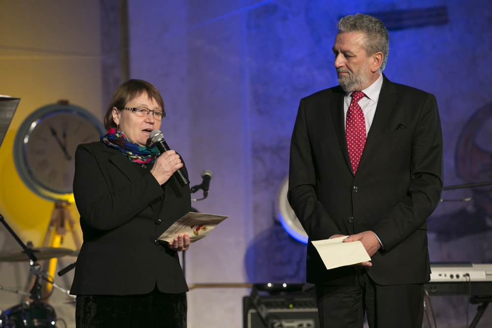 Veřejná ochránkyně práv Anna Šabatová a senátor Ivan Gabal