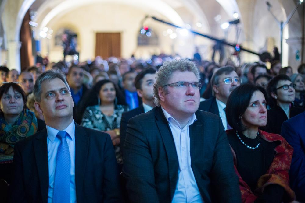 Partneři a hosté předávání cen Roma Spirit 2014