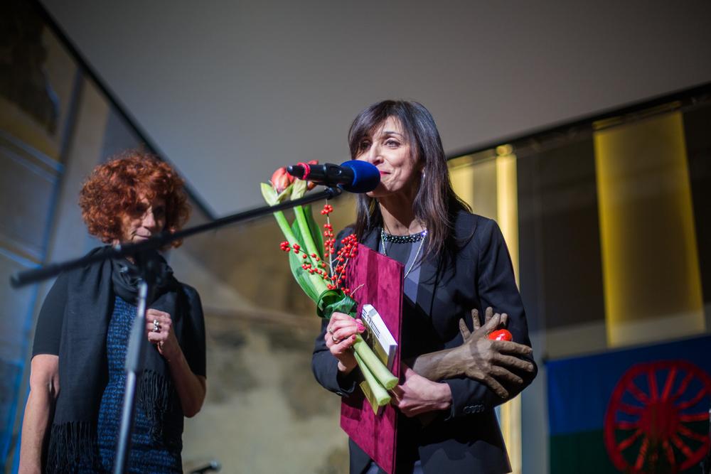 V kategorii Média byla oceněna Irena Demeterová, šéfredaktorka pořadu O Roma vakeren Českého rozhlasu.