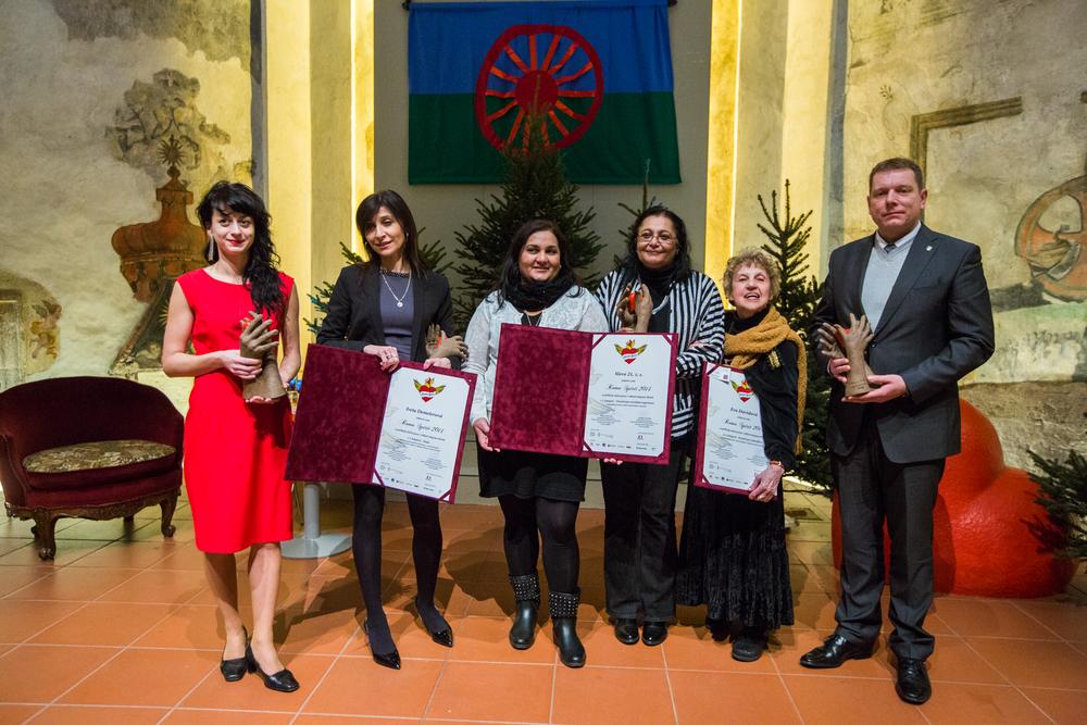 Ocenění Roma Spirit 2014