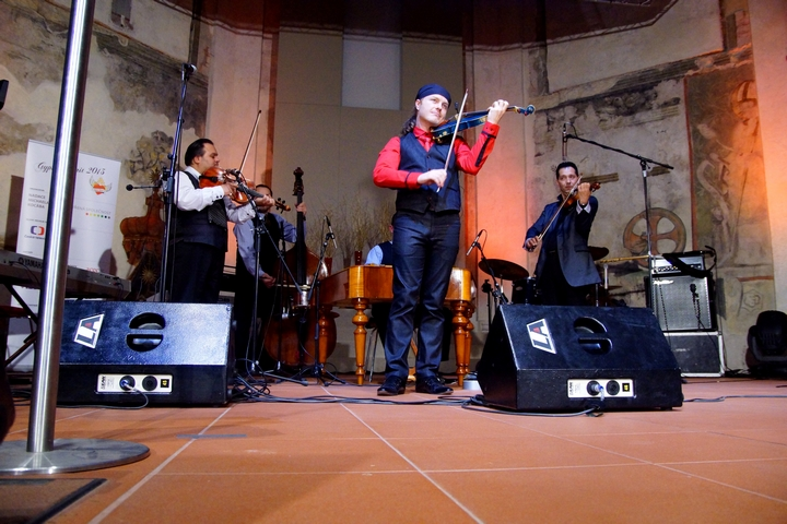 Pavel Šporcl a kapela Gypsy Way