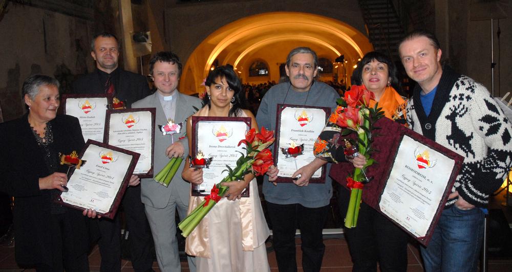 Ocenění Gypsy Spirit 2013