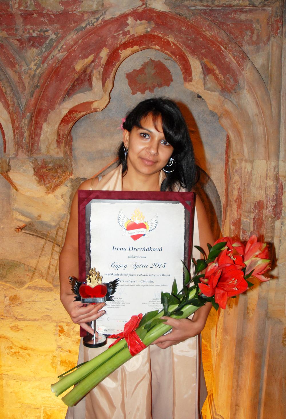 Irena Drevňáková, která zachránila životy pěti lidí vytažením z potápějícího se auta
