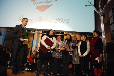 Ministr Dienstbier na Roma Spirit 2014