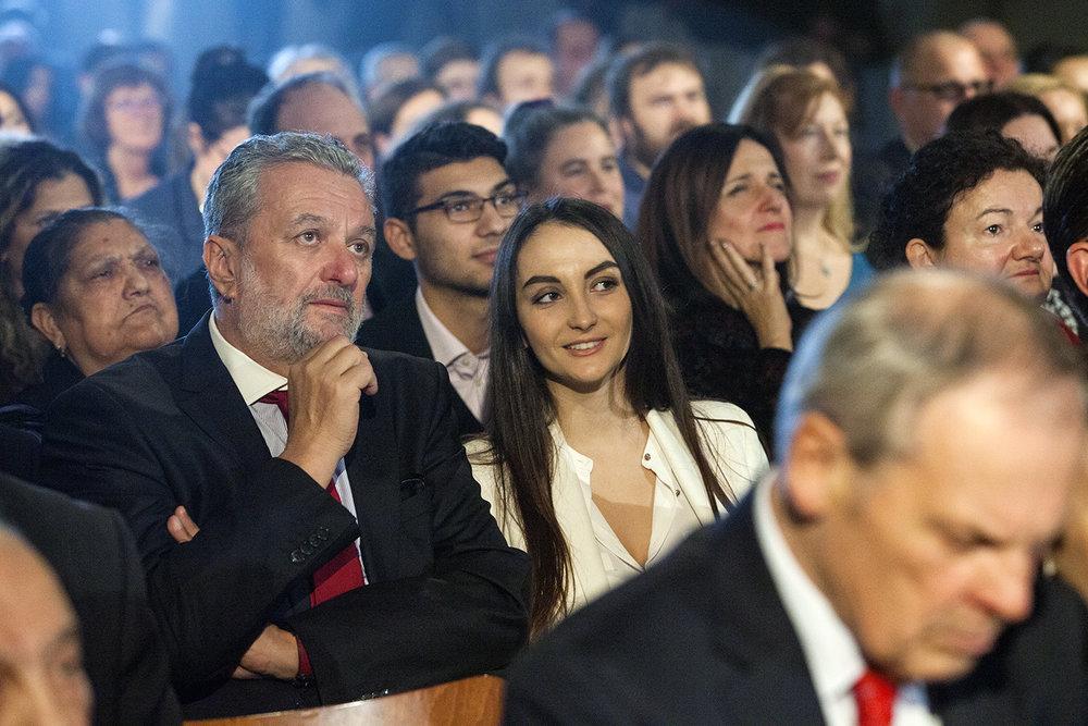 Mezi hosty byl i poslanec Parlamentu ČR Ivan Gabal a kousek dál ústavní soudkyně Kateřina Šimáčková. Děkujeme za Vaši účast, je nám podporou.