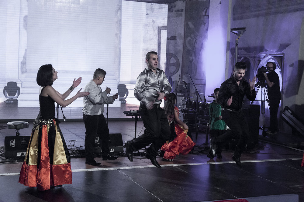 V závěru zatancoval brněnský soubor tradičních tanců TS Merci.