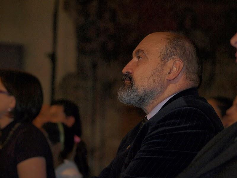 Profesor Tomáš Halík a další hosté.