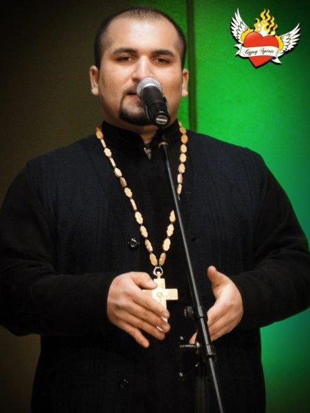 David Dudáš, první romský pravoslavný kněz, člen poroty Čin roku.