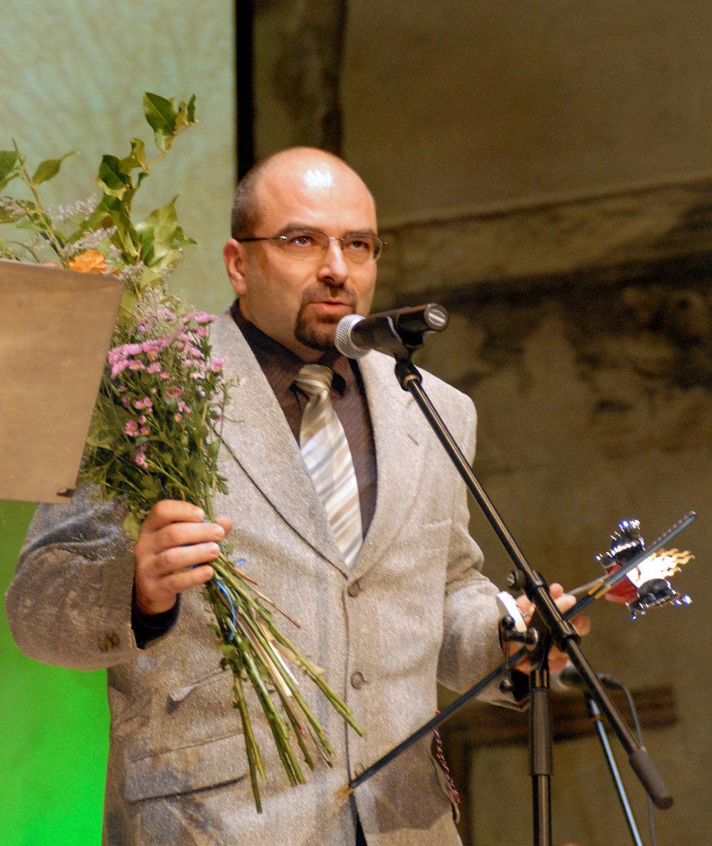 Doc. MUDr. Michal Hladík a cena Gypsy Spirit Dětské jednotce intenzivní a resuscitační péče Fakultní nemocnice v Ostravě.