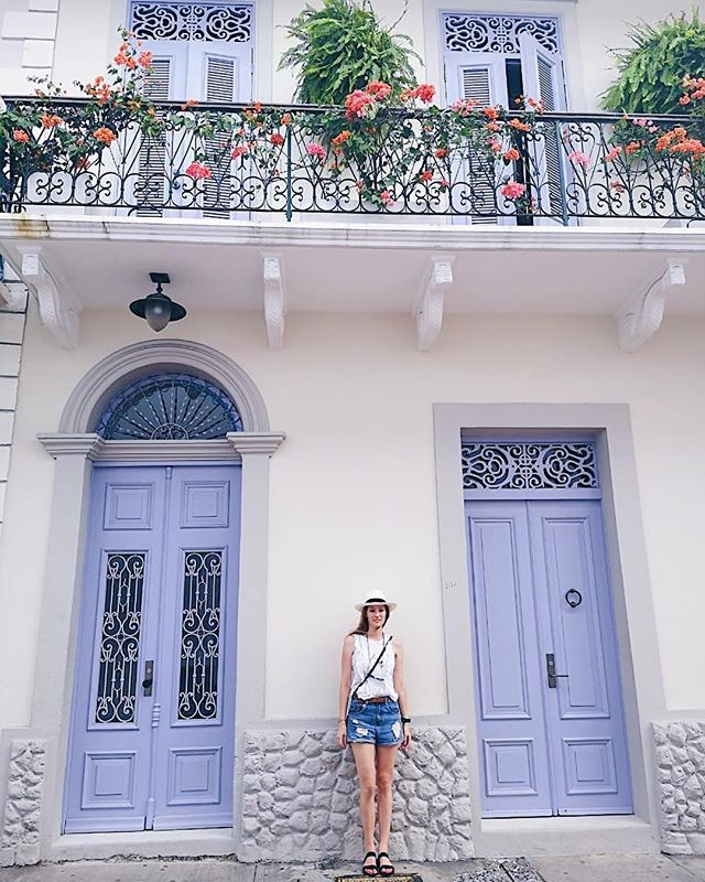 Casa Viejo 💜  #widenyourworld #livecolorfully #happyheart #pursuepretty #panamacity #backpackinglife