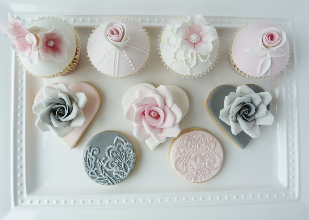 Vintage lace cupcakes and cookies.jpg
