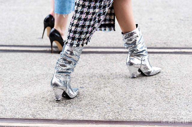 My most favourite shot #sparkles @mercedesbenzfashion #fashion #fashionaustralia #fashionbloggers #archanaphotography #australiandesigners #mercedesbenz #mercedesbenzfashionweek #sydney #highendfashion #streetfashion #streetswag #mercedesbenzfashionweekaustralia #graziaaustralia #cosmoaustralia #highheels #sparklyboots #chanel