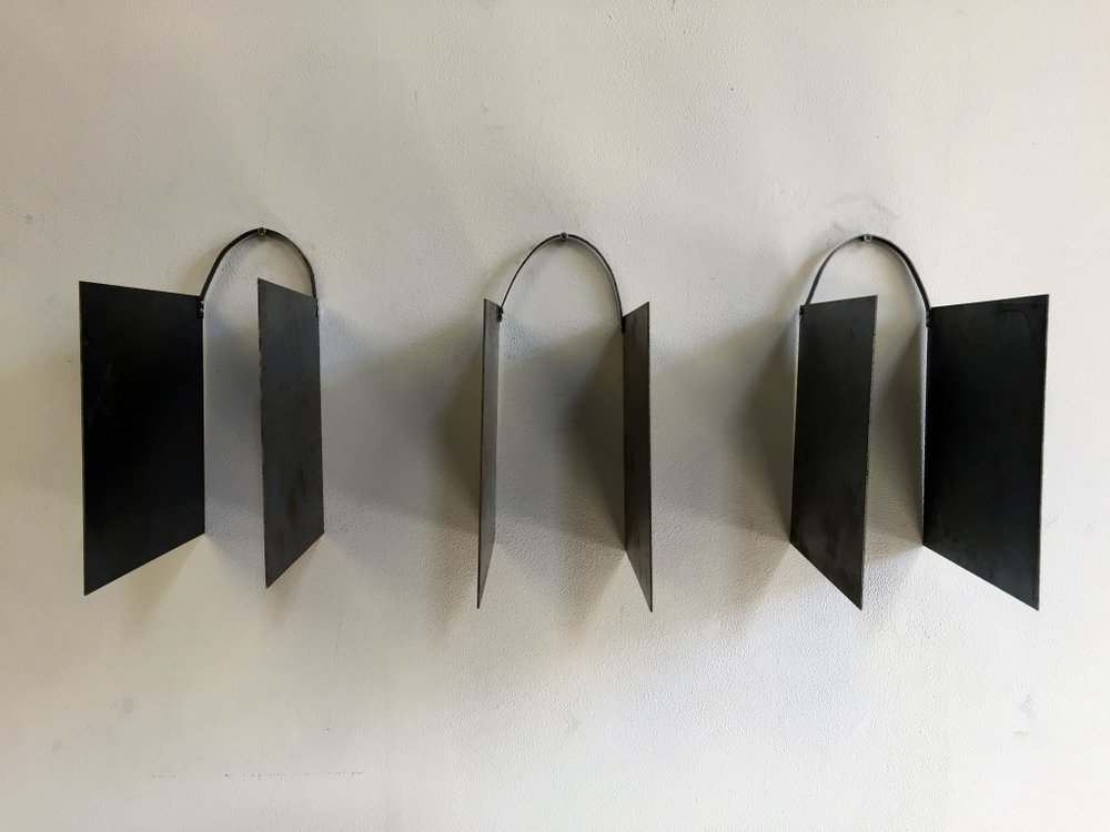 Triptych in Metal, 2016