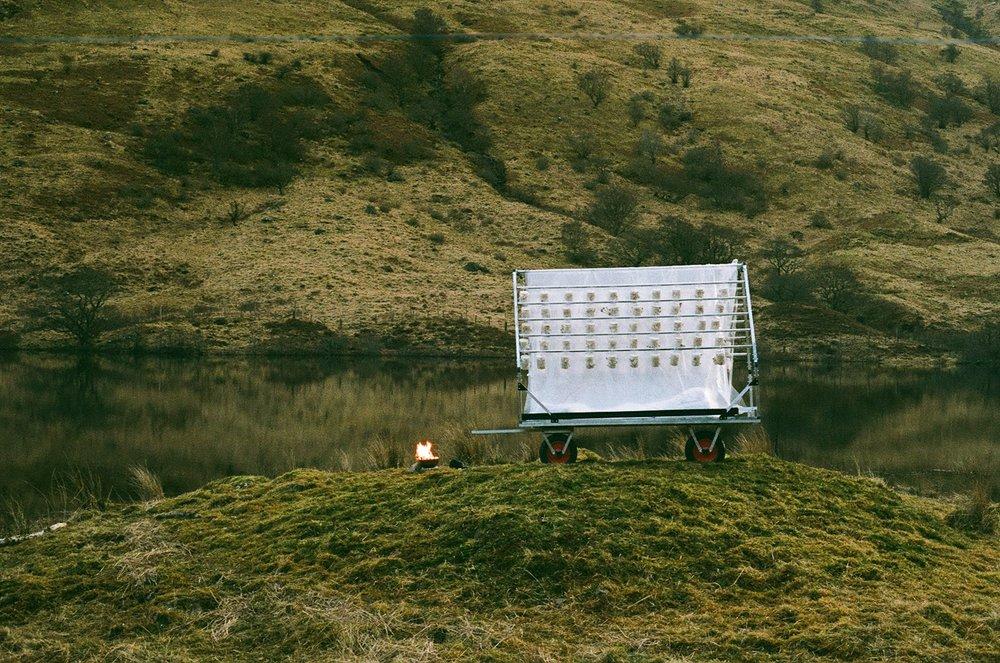 Flat-Pack Mobile Habitat, Glen Finglas Reservoir