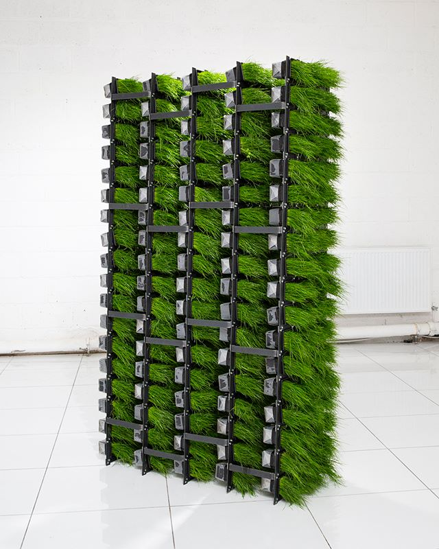 Compact Vertical Grower  Mixed media 0.6 x 1.8 x 2m  2018 📸 - @jgphotography_gla {#contemporaryart #art #artist #glasgow #sculpture #contemporarysculpture #exhibition #whatson #sustainability #enviromental #green #raft #boathouse #narrative