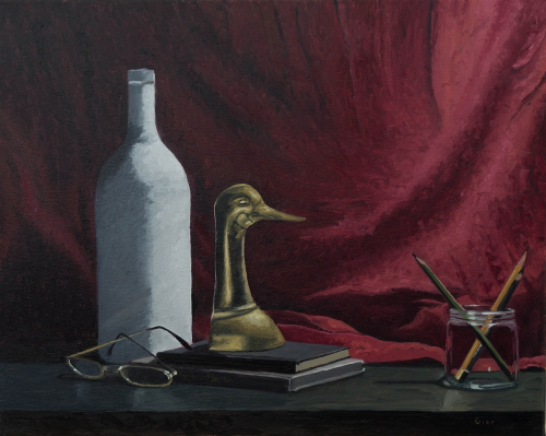"""Still, life"" - 16x20""(41x51cm) oil on stretched linen canvas."
