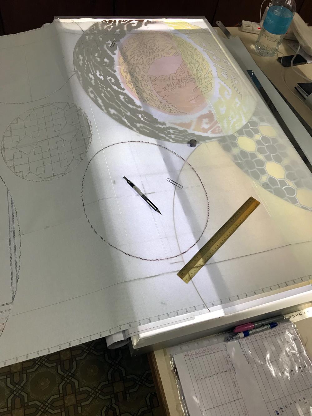 Pattern sketching