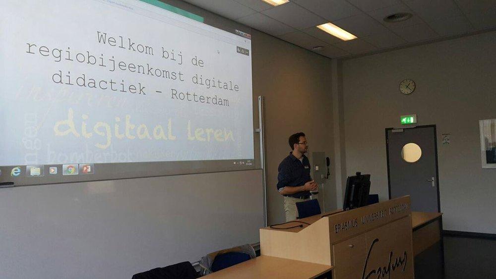 Erik Dikkers, Business Line Manager Somtoday, in Groningen.