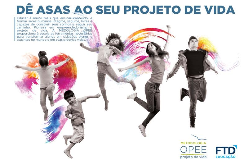Conceito e texto para campanha de METODOLOGIA OPEE e FTD EDUCAÇÃO.
