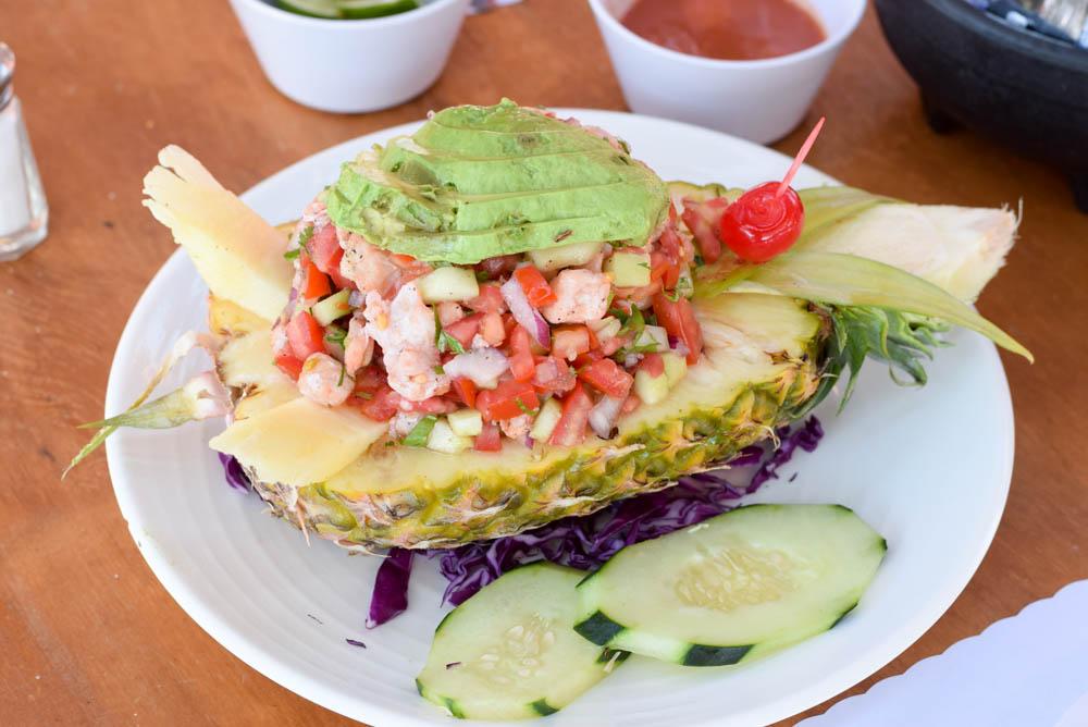 Ceviche, Villa Ortega's, Puerto Nuevo, Mexico