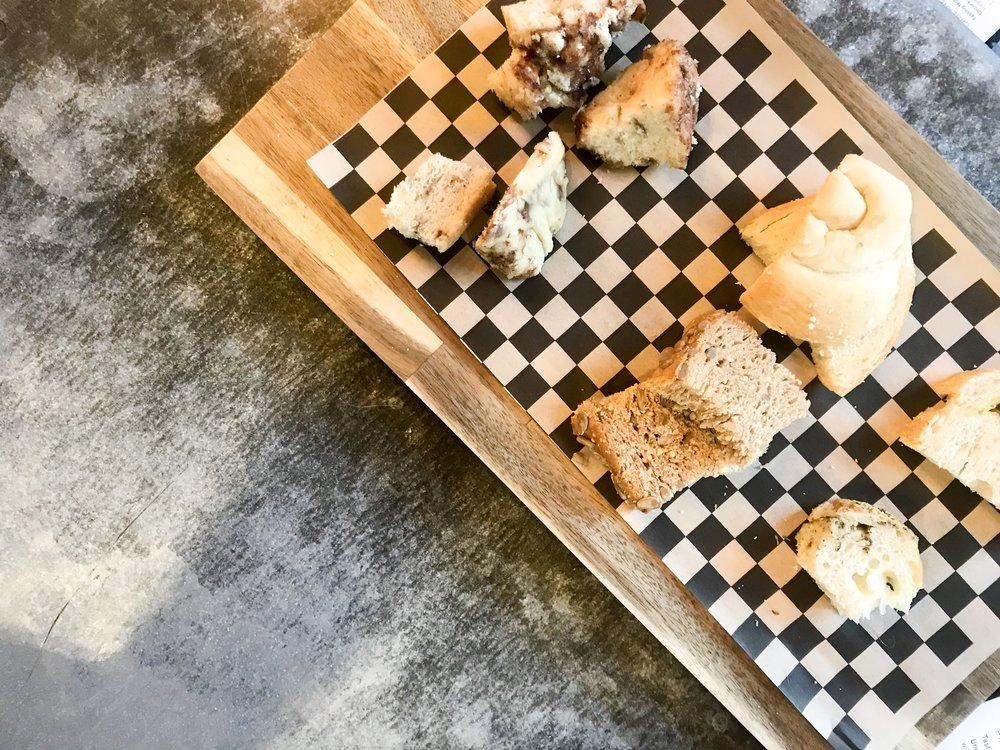 Peltzer Winery Bread Pairing