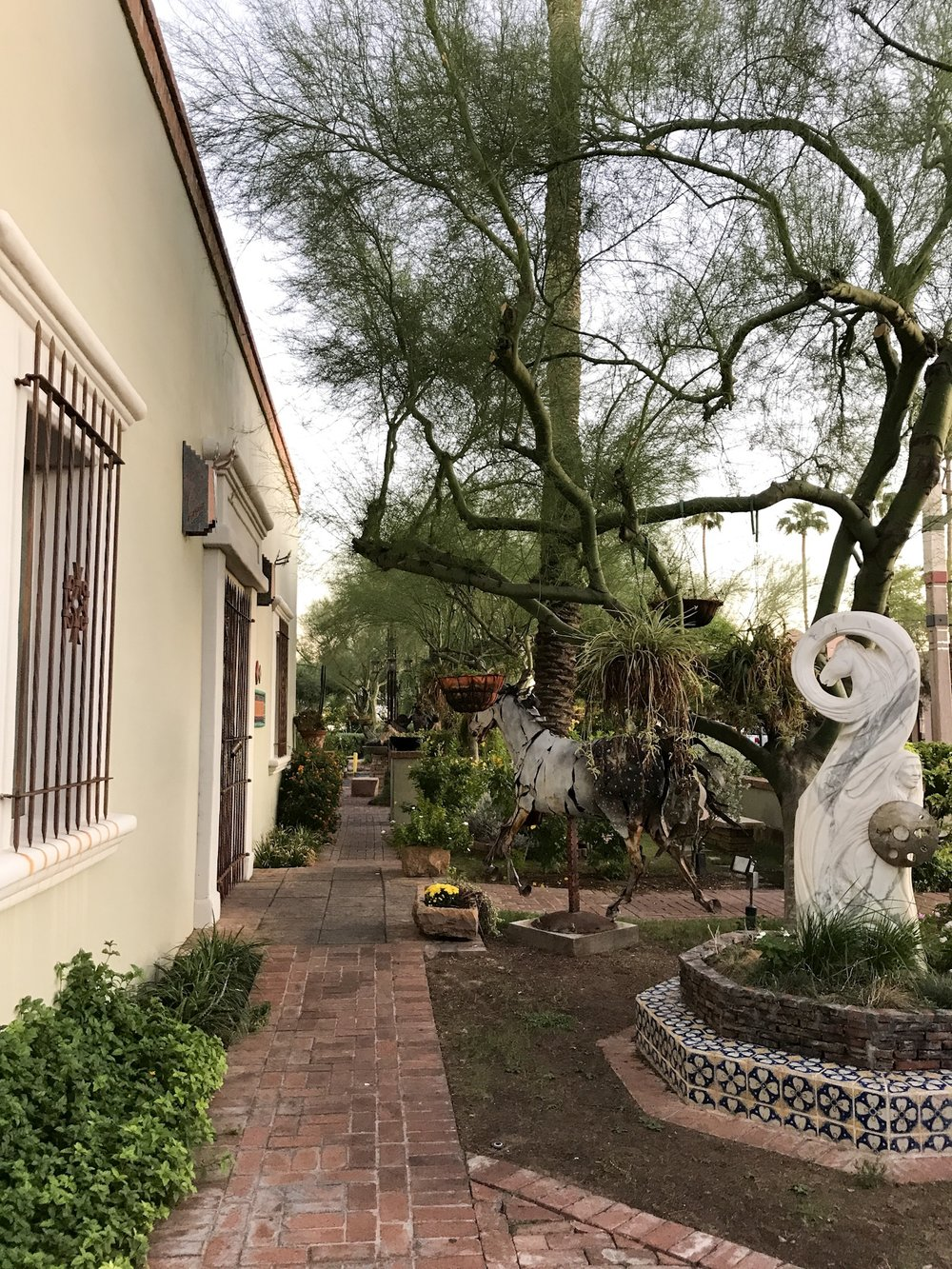 Old Town Scottsdale, Arizona | Photo by Erika Beach WLPW
