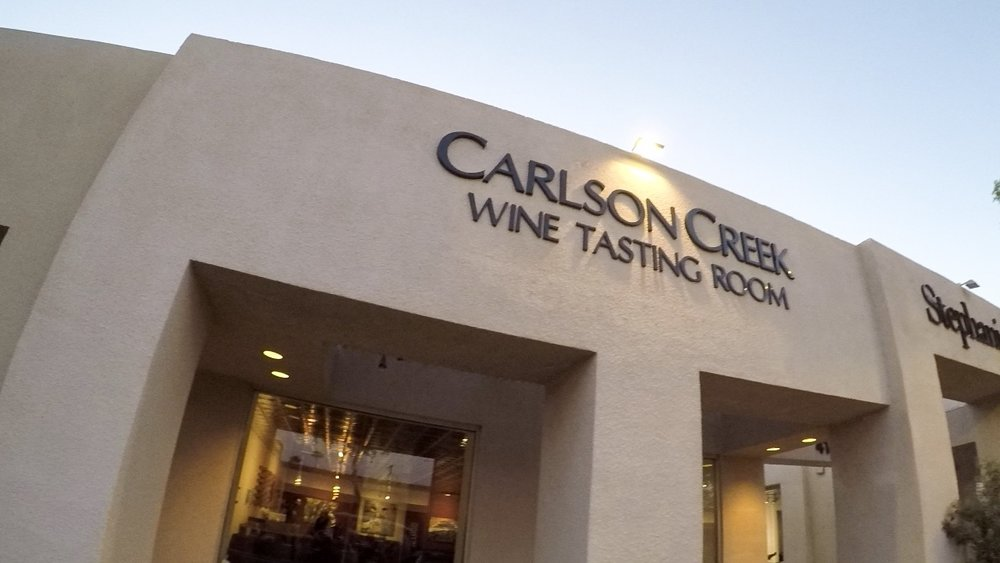 Scottsdale, Arizona | Photo by Erika Beach WLPW | Carlson Creek Wine Tasting Room