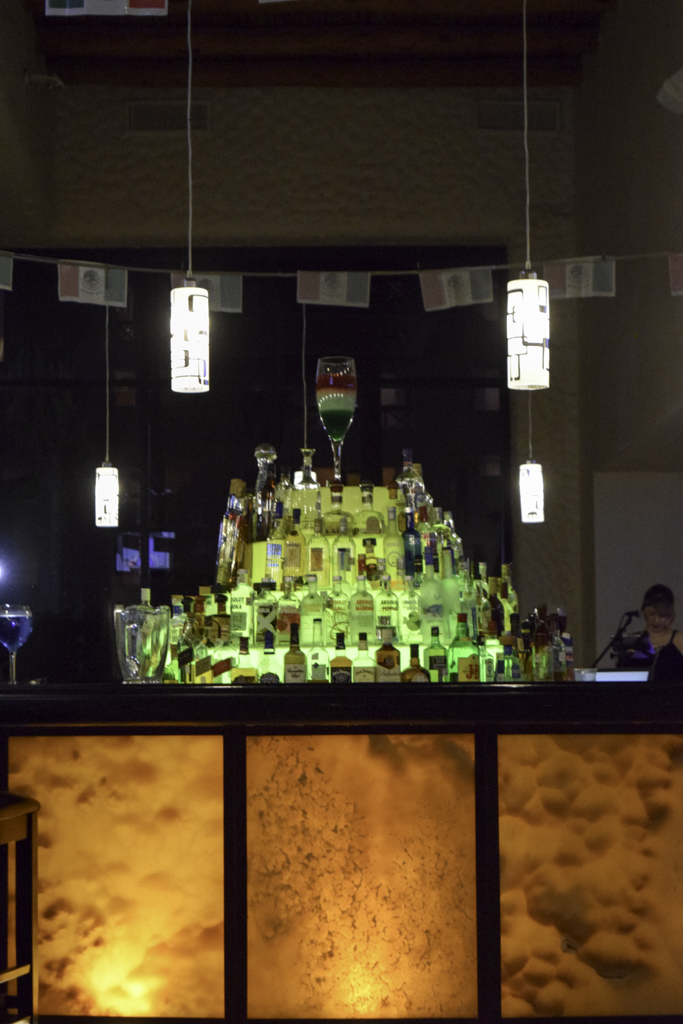 The bar at Penasco Del Sol Resort