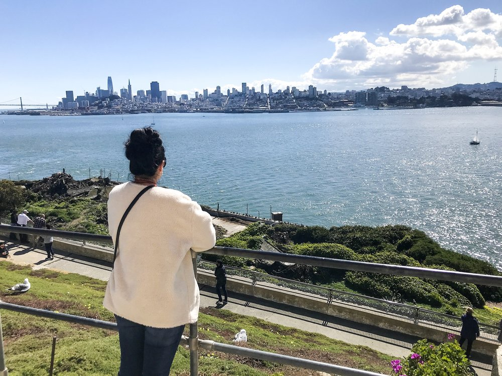 View of San Francisco from Alcatraz | Photo by Erika Beach