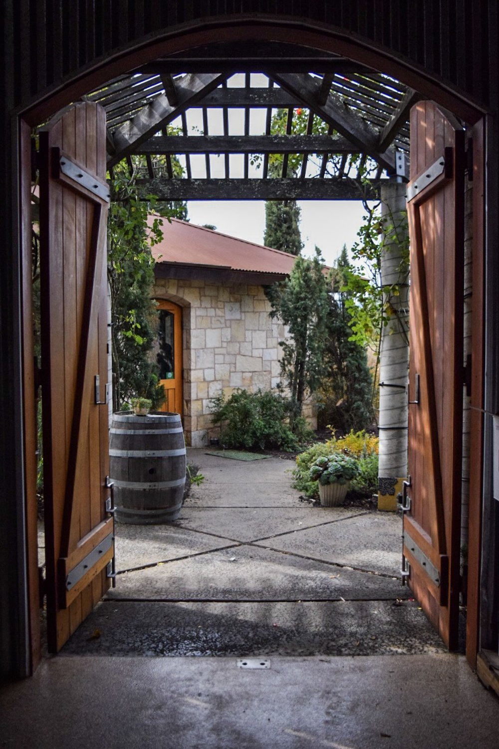 Hagafen Winery | Napa | Photo by Erika Beach