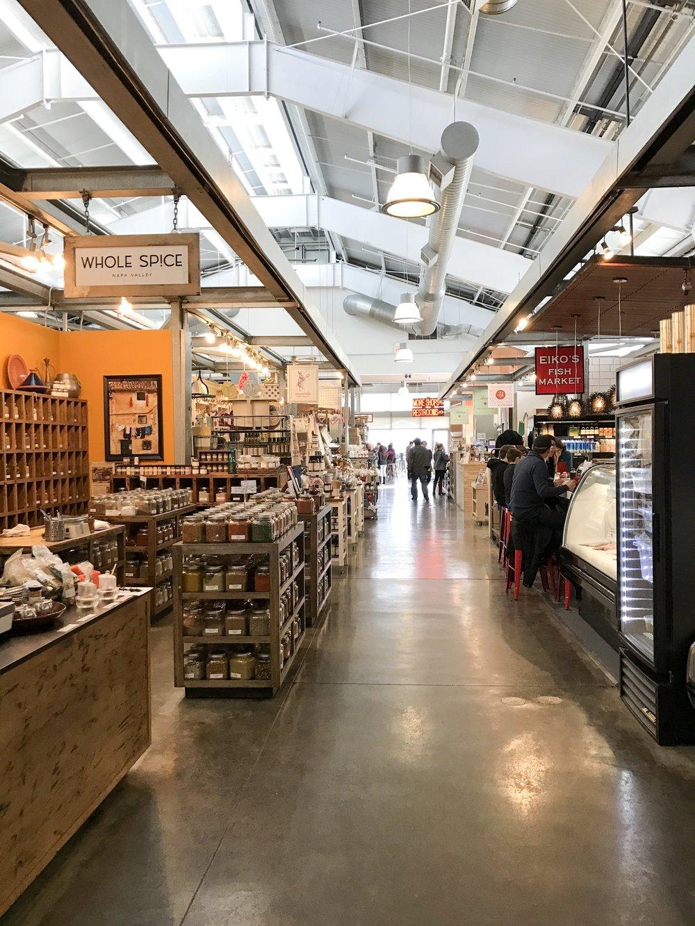 Oxbow Public Market   Napa Valley