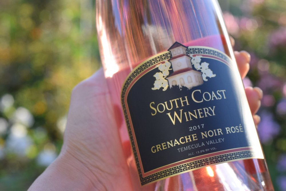 South Coast Winery and Carter Estate | Temecula rosé Wine