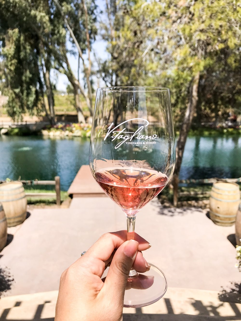 Vitagliano Vineyards | Cabernet Rose