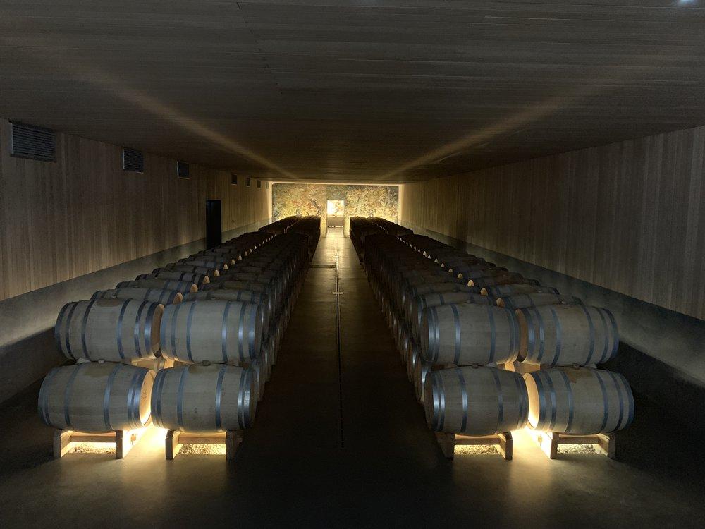 Romantic Barrel Room