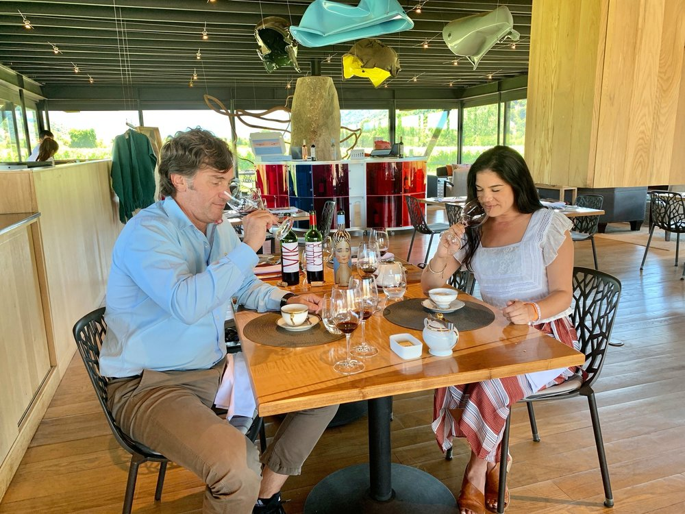 Lunch with winemaker Cristian Vallejo