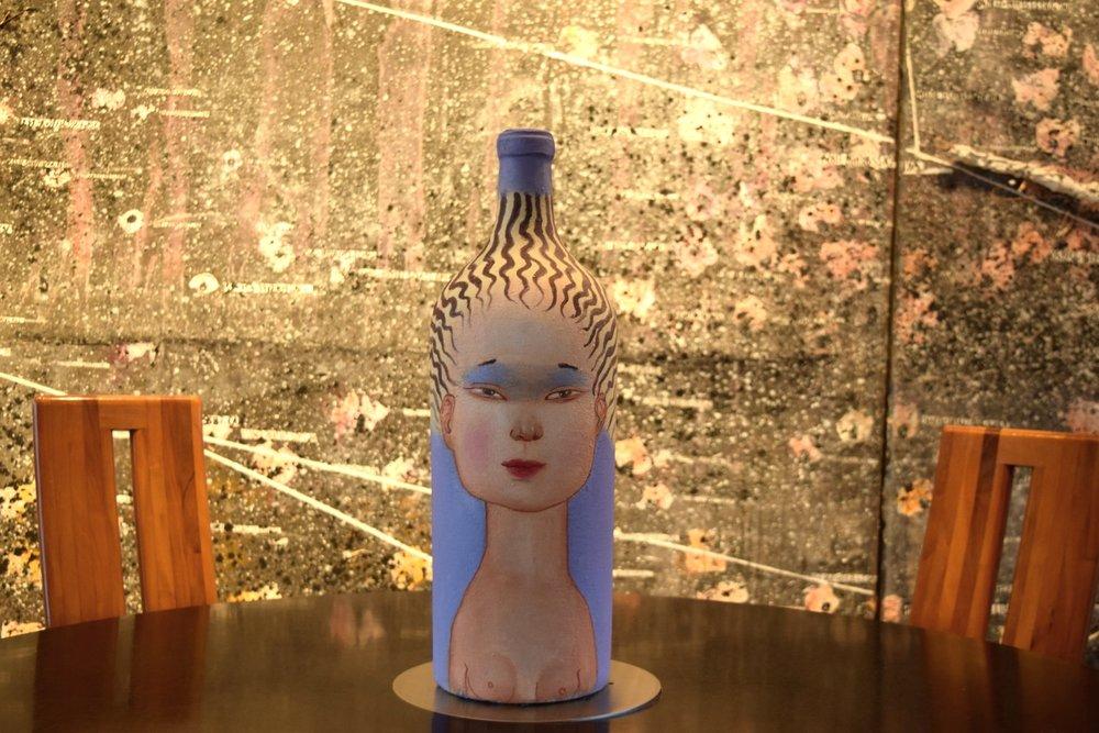 La Piu Belle, bottle design by Ridrigo Cien Fuegos