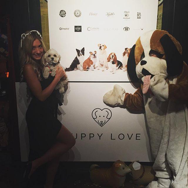 Show your love ❤️🐶 #dogsofinstagram #puppylove2017 #puppylove #toronto #torontoevents #puppylovefund #pleasedonate