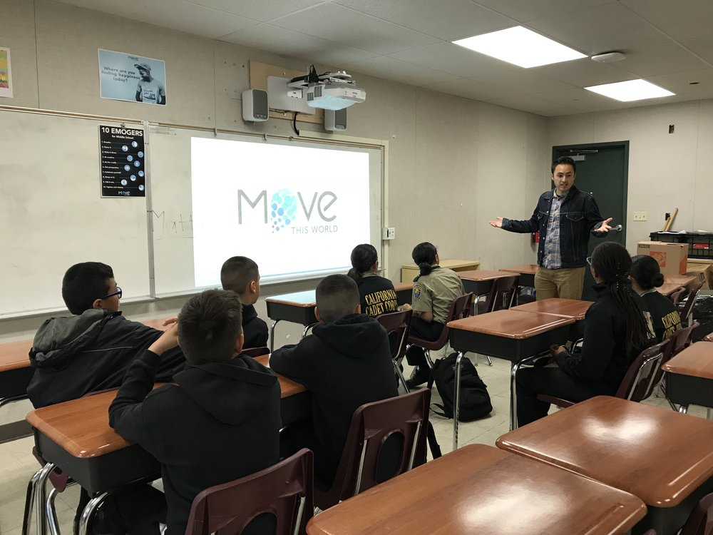 Move This World, social emotional learning program, middle school