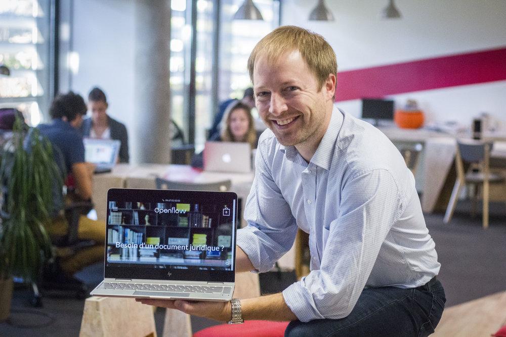 Découvrez le témoignage de Simon De Charentenay, CEO d'Openflow (Saison 3 - SPRINT Montpellier)