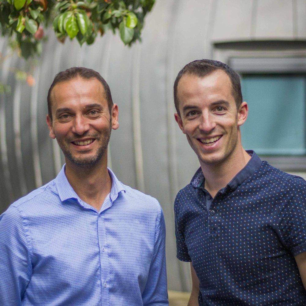 Patrick Chekib & Arnaud Laurent Co-fondateurs & Dirigeants