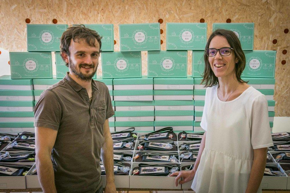 Christophe & Carole Aran, Co-fondateurs de Craftine