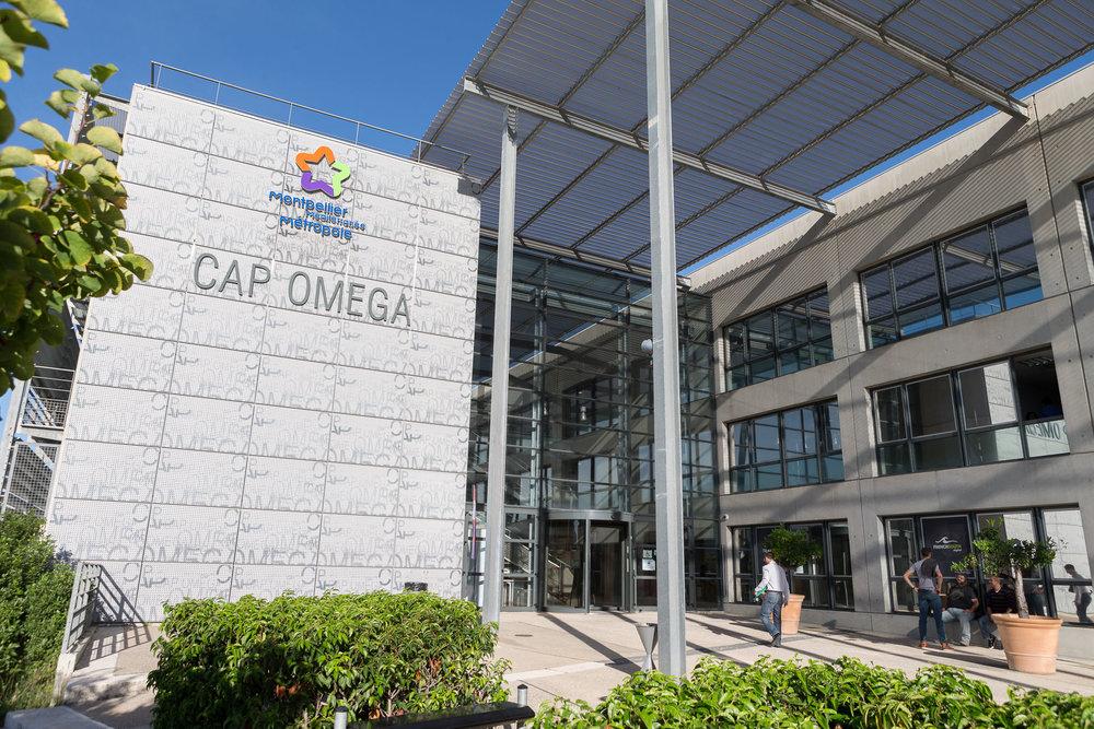 Cap Omega, l'un des trois incubateurs du BIC