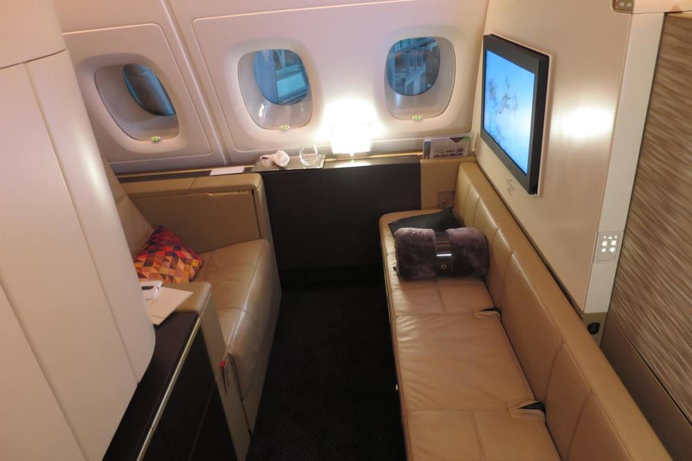 2nd biggest first class cabin in the world, after The Residence on the same Etihad flight