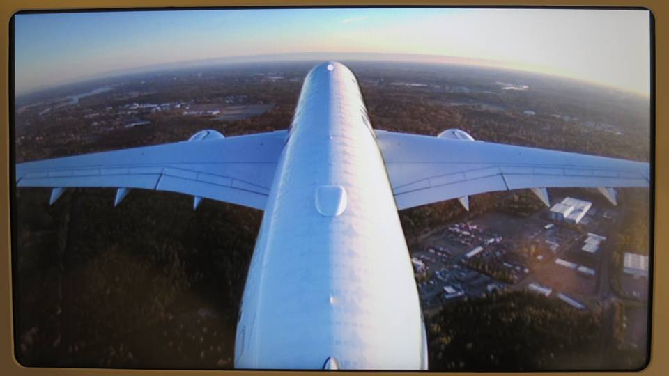 Gorgeous tailcam view