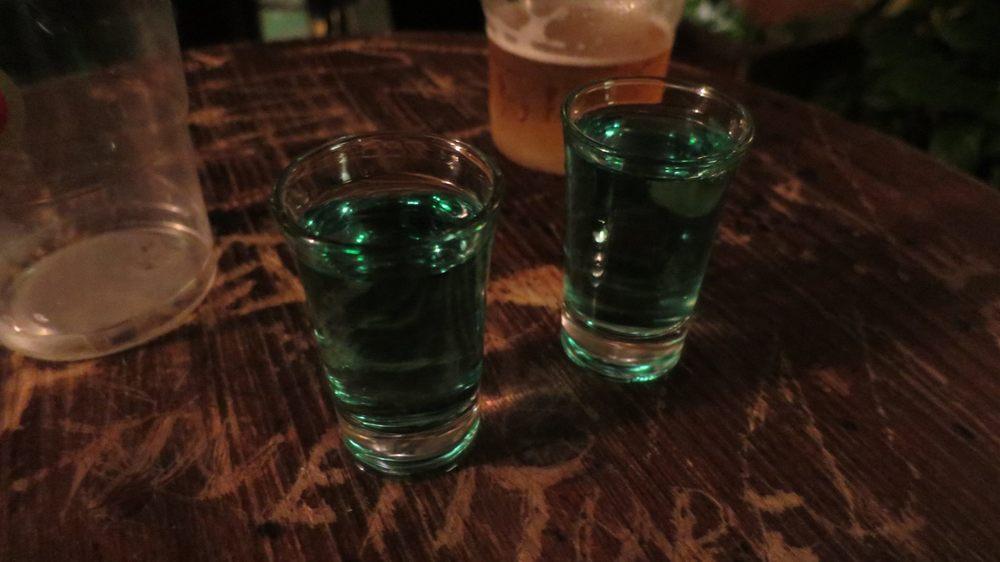 Absinthe shot
