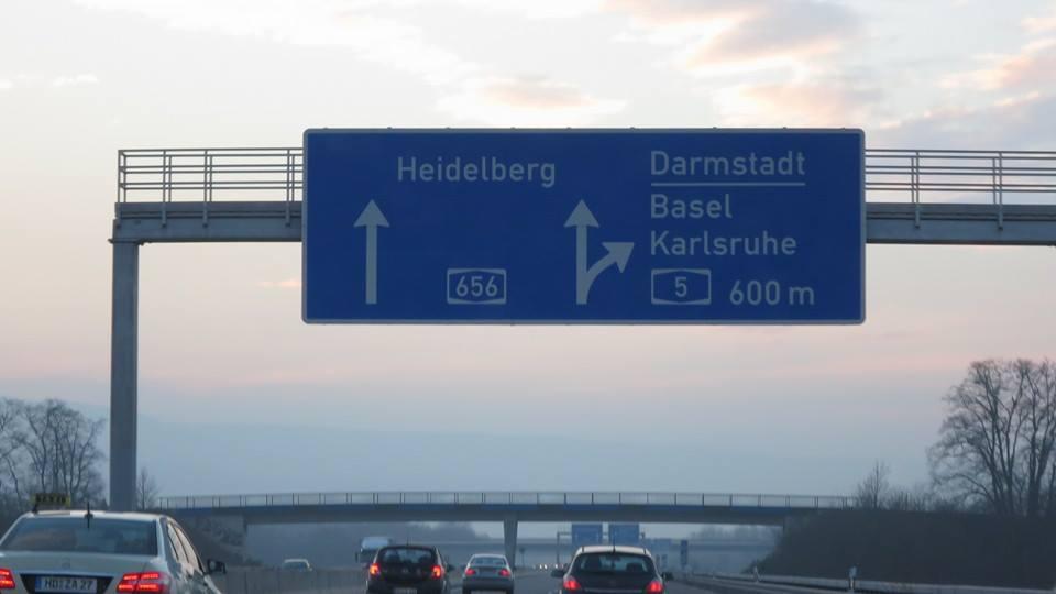 Enroute to Stuttgart