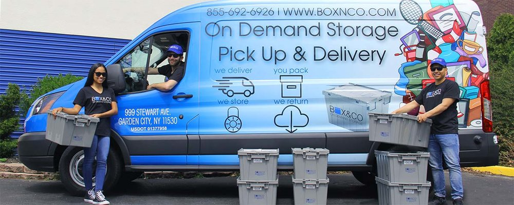PICK UP & DELIVERY SERVICE   AT THE TOUCH OF A BUTTON   LEARN MORE