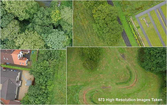 aerial survey images